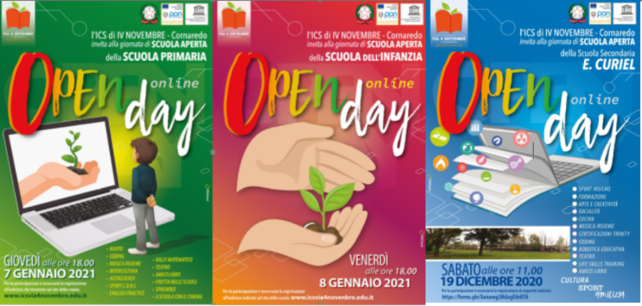Materiali Informativi Open Day
